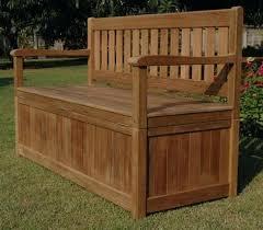 Garden Storage Bench Wood Garden Wooden Storage Boxes U2013 Exhort Me