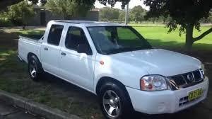 nissan navara 2003 2002 nissan navara dual cab ute for sale edward lees youtube