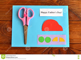 set for greeting card father u0027s day happy father u0027s day step stock
