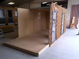 module bureau module bois en kit pour construction d abri bureau studio de