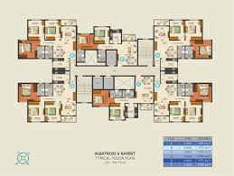 3 Bhk Apartment Floor Plan by Ideal Aqua View U2013 Residential Flats Near Sector V Kolkata