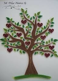 160 best quilling trees images on quilling ideas