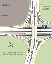 Salem Virginia Map by Interstate 581 And Valley View Interchange Improvements