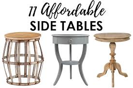 Living Room Side Tables Affordable Side Tables For Decorating Your Home In Style