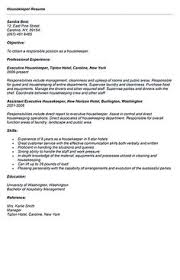Resume Examples Housekeeping by Professional Housekeeper Maid Resume Template Free Download Free