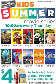 new vision theatres present the kids summer movie series mommy