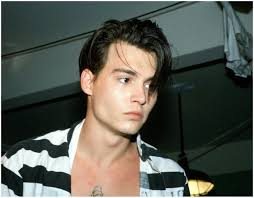 young male actor floppy hair 1980s how to get johnny depp s hairstyle