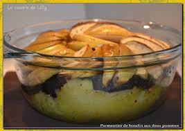 cuisine de lilly parmentier de boudin aux deux pommes la cuisine de lilly