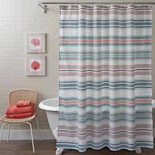 Stripe Shower Curtains Better Homes And Gardens Seersucker Stripe Shower Curtain 72