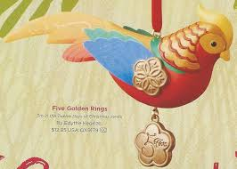 hallmark keepsake ornaments twelve days of