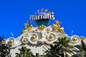 Harrah S Las Vegas Map by Harrah U0027s Two Gilded Jester Sculptures On Marquee In Las Vegas