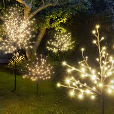 light up trees lights and gardens