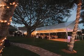 Backyard Wedding Lighting by Elegant Backyard Wedding The Majestic Vision
