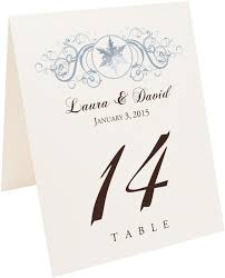 what size are table number cards curly sue snowflakes wedding table numbers table number and table