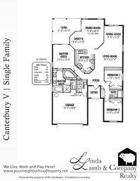 canterbury v single family floor plan heritage palms linda lamb