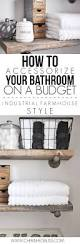 how to accessorize your bathroom on a budget budgeting learning