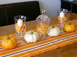 cupcake home decor kitchen impressive halloween table decorations orange polyester tablecloth