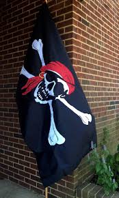Checkered Flag Va Beach Appliqué And Embroidered Pirate Flag By Bald Eagle Flag Store