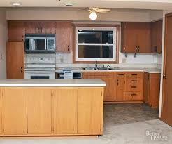 Bhg Kitchen Makeovers - diy kitchen cabinet and island makeover