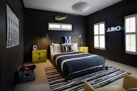 cool bedroom designs for guys grey striped bed sheet includes