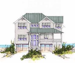 narrow waterfront house plans floor plan beach house plans narrow floor plan district one story