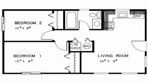 simple two bedroom house plans simple house plan with 2 bedrooms decorate my house