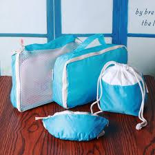 Waterproof Cushion Storage Bag by Online Shop 4pcs Set Portable Travel Package Bag Waterproof