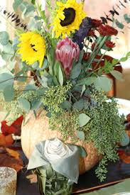 thanksgiving day flowers decorated mantel november 2015