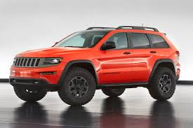 jeep grand cherokee trailhawk off road jeep reveals grand cherokee trailhawk concept autoevolution