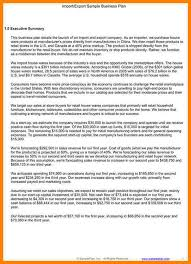 5 executive summary business plan template farmer resume