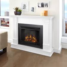 build electric fireplace real flame silverton electric fireplace white fireplaces at