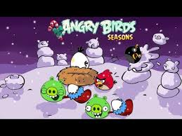 angry birds seasons christmas coloring angry birds noel