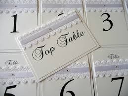 themed table numbers vintage white lace themed table numbers and top table cards i do
