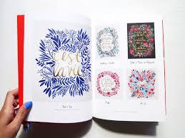 decorative lettering book u2014 catcoq