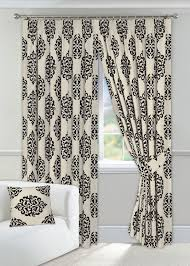 Floral Lined Curtains Black And Curtains 90 X 90 Fully Lined Tiebacks