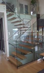 floating open stairs cantilevered stairs