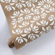floral wrapping paper rolls floral wrapping paper white wrapping paper roll kraft wrapping