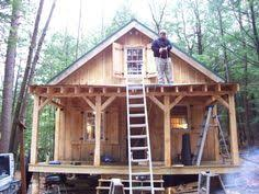 small cabin plans with porch small cabins with lofts loft framing loft after insulation and