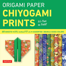 Quality Sheets Origami Paper Chiyogami Prints 6 3 4