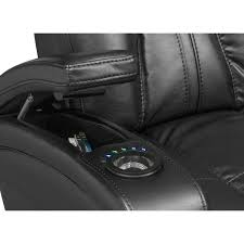 Power Sofa Recliners Leather by Pulsar Dual Power Reclining Sofa And Power Recliner Set Black