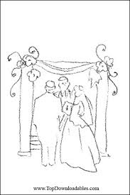 free printable religious wedding coloring pages