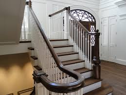 stair modern spiral staircase design for your house with maroon