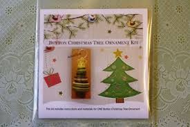 button tree ornament kit greenfield soap co