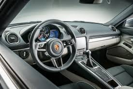 ruf porsche interior porsche launches new 718 cayman with 4 cylinder turbo ferdinand