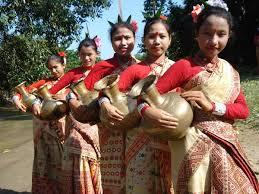 clothing style in assam mekhla chadhor gamcha utsavpedia