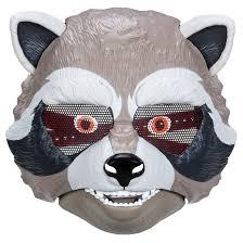 Guardians Galaxy Halloween Costumes Marvel Guardians Galaxy Rocket Raccoon Mask Target