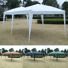 10 X 20 Shade Canopy by 10 U0027 X 20 U0027 Ez Pop Up Folding Wedding Party Tent Cross Bar