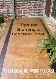 Concrete Stain Colors For Patios Staining Concrete Floors Concrete Stain Sealer Etching Concrete