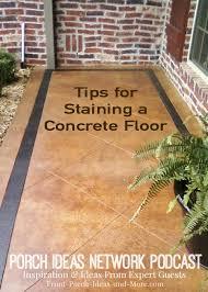 Cement Patio Sealer Staining Concrete Floors Concrete Stain Sealer Etching Concrete