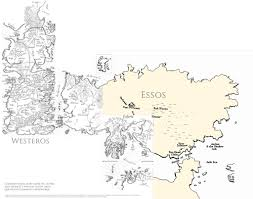 Map Of Westeros World by Game Of Thrones World Map By Epinefren On Deviantart